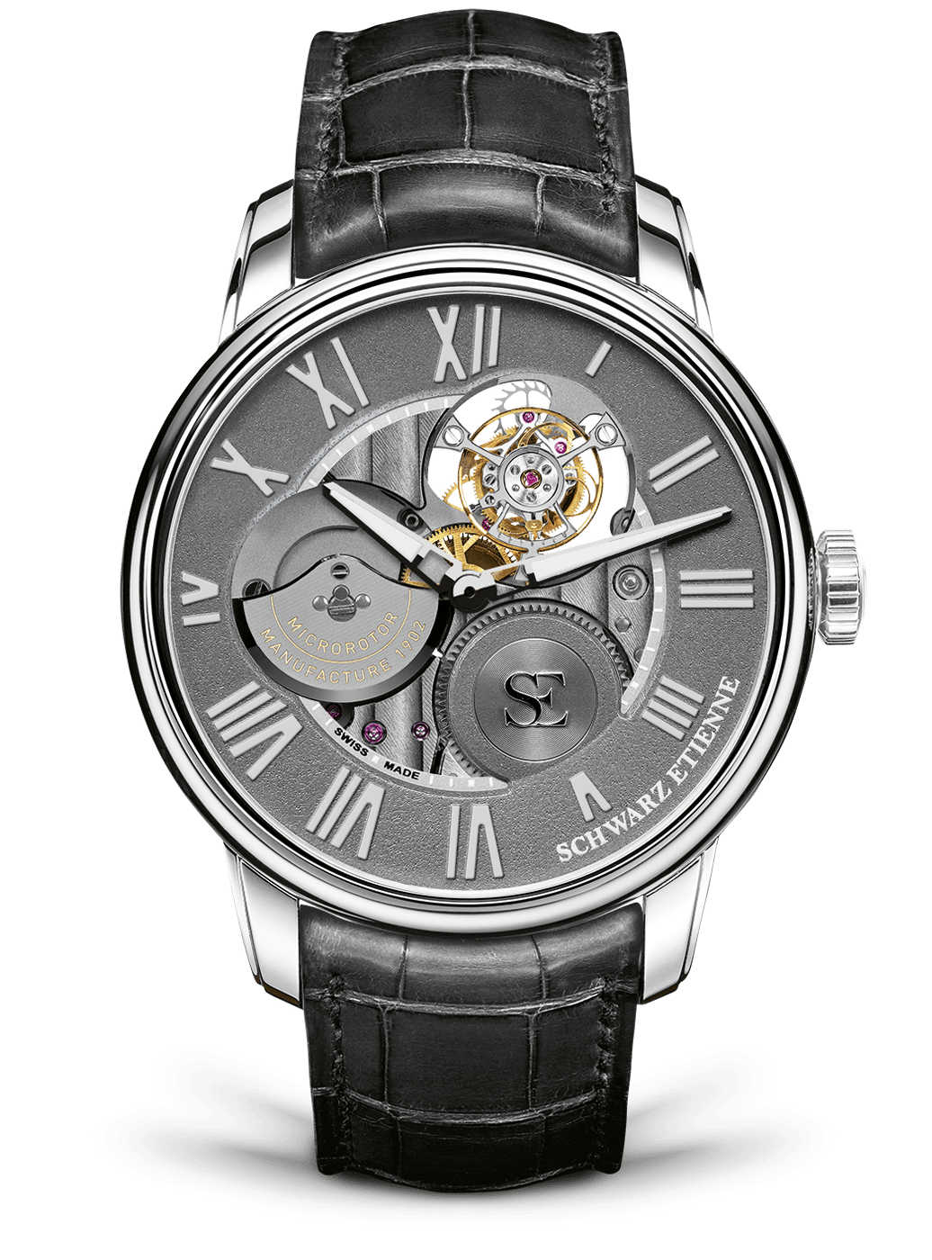 Black Etienne: La-Chaux-De-Fonds Collection Tourbillon TSE